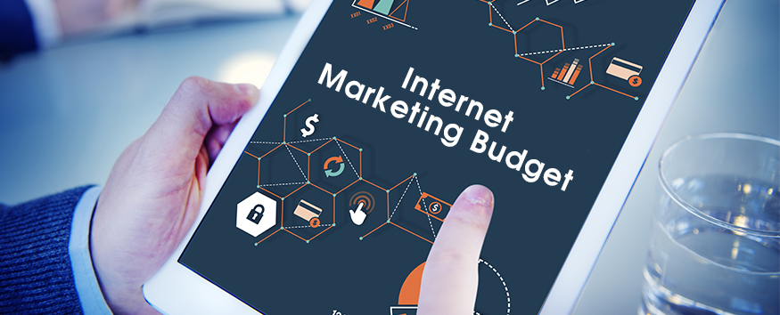 internet marketing budget