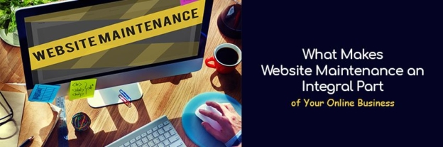 Website maintenance services provider for your online business