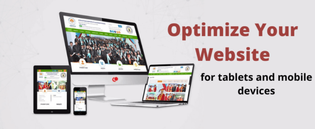 Responsive websites by website development company in India